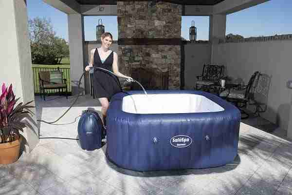 best inflatable hot tub for the money