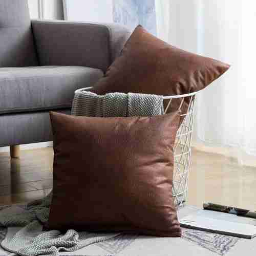 easy to maintain leather couch cushion