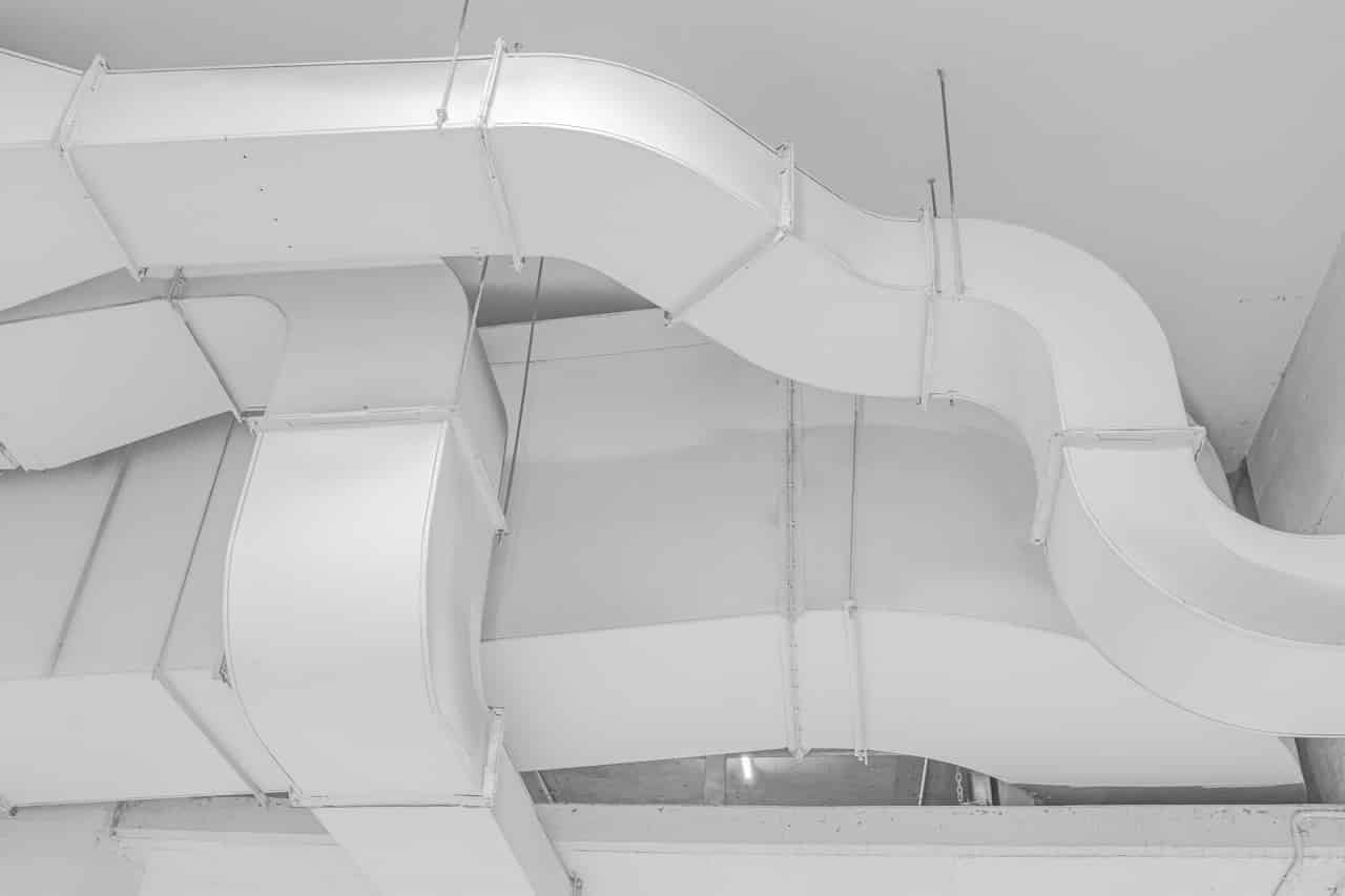 forced air heating system ducts